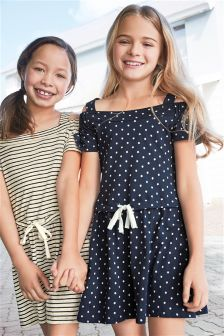 Cold Shoulder Dress (3-16yrs)