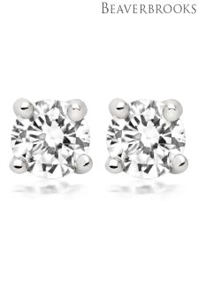 Beaverbrooks Silver Stud Earrings
