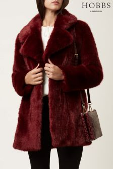 Hobbs Red Bethany Coat