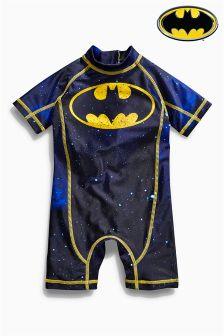 Navy Batman® Sunsafe Suit (3mths-6yrs)