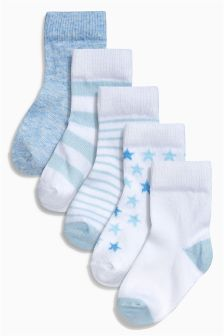 Socks Five Pack (Younger Boys)