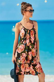 Hydrangea Short Dress
