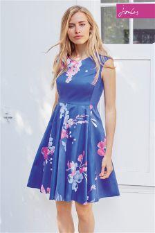 Blue Joules Amerlie Floral Woven Dress