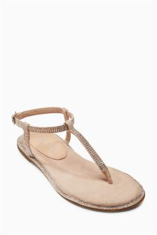 Diamanté Sandals (Older Girls)