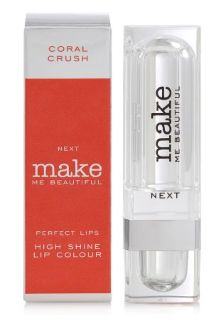 Make Me Beautiful High Shine Coral Lipstick
