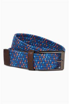 Blue Elastic Belt (Older Boys)