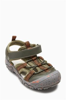 Bumper Toe Trekker Sandals (Younger Boys)