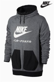 Nike Carbon Heather International Hoody