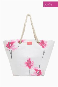 Joules French Navy Summer Beach Bag