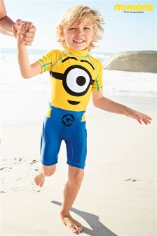 Minions Sunsafe Suit (2-6yrs)