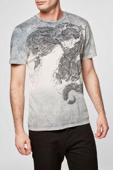 Dragon Dip Dye T-Shirt