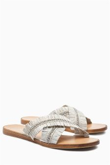 Fringe Sparkle Sliders