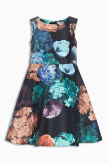 Summer Floral Prom Dress (3-14yrs)