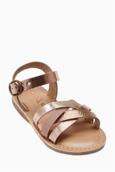 Metallic Sandal (Younger Girls)