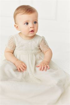Lace Occassion Gown (0-18mths)