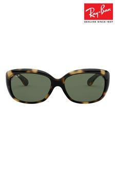 Tortoiseshell Ray-Ban® Jackie Ohh Sunglasses