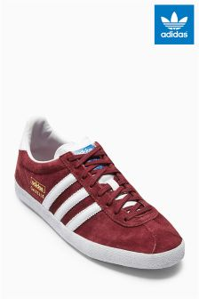 Burgundy adidas Originals Gazelle OG