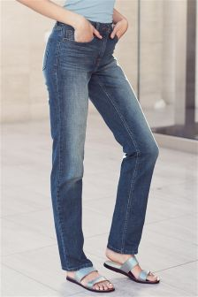 Womens Slim Fit Jeans | Slim Fit Black & Blue Jeans | Next UK