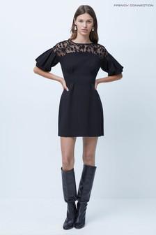 adidas Black Techfit Printed Capri