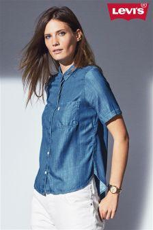 Denim Levi's® Short Sleeve Shirt