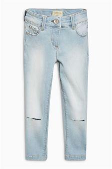 Knee Cut Skinny Jeans (3-16yrs)