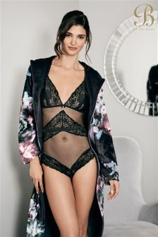 B By Ted Baker Black Lace Body