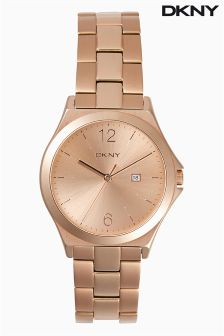 Gold DKNY Parsons Watch