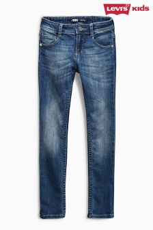 Levi's® Anna Mid Blue Skinny Jeans