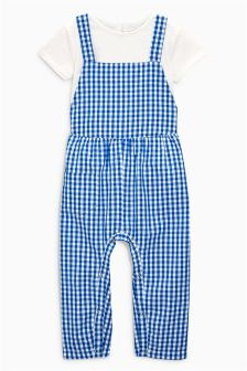 Top And Dungarees Set (3mths-6yrs)