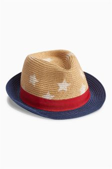 Straw Trilby (Younger Boys)