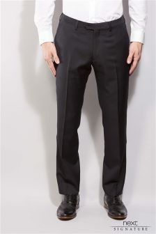 Signature Tailored Fit Tuxedo Suit: Trouser