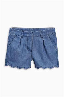Scallop Shorts (3-16yrs)