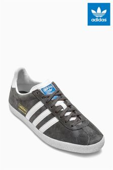 Grey adidas Originals Gazelle OG