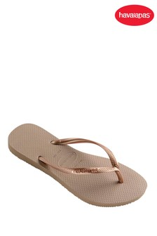 Havaianas® Rose Gold Slim Flip Flop