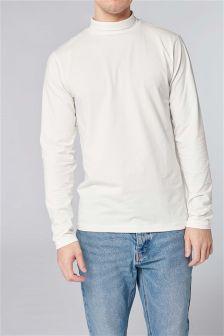 Long Sleeve Roll Neck T-Shirt