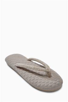Textured Toe Thongs