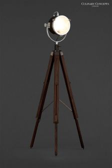 Culinary Concepts Wooden Tripod Spotlight