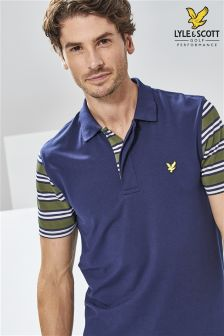 Lyle & Scott Golf Navy Dufftown Polo