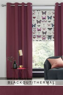 Cotton Eyelet Blackout Curtains Studio Collection By Next