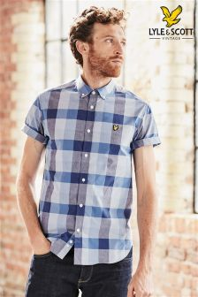 Lyle & Scott Wide Check Shirt