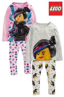 Lego™ Girl PyjamasTwo Pack (4-10yrs)
