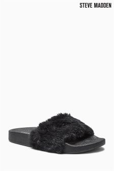 Steve Madden Softy Fluffy Slider Mule