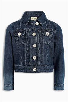 Denim Dk Wash Denim Western Jacket (3-16yrs)