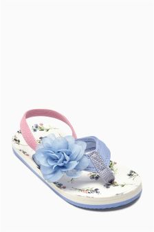 Corsage Flip Flops (Younger Girls)