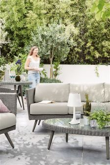 Taranto Sofa Set Grey