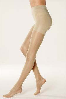 Bum, Tum & Thigh Shaping Tights 10 Denier