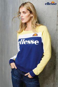 Yellow/Blue Ellesse Crew