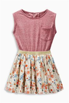 Printed Dress (3-16yrs)