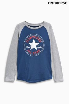 Converse Long Sleeve Raglan T-Shirt