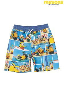 Blue Minions Swim Shorts (3-12yrs)
